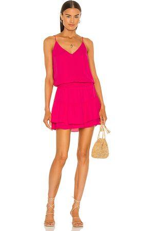 krisa Smocked Waist Cami Mini Dress in . Size XS, S, M.