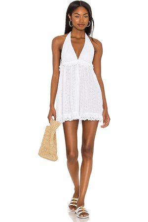 Tularosa Ryse Mini Dress in . Size XXS, XS, S, M, XL.