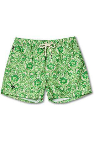 Oas Herren Badehosen - Printed Swimshorts Greenie