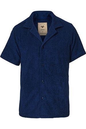 Oas Herren T-Shirts - Terry Cuba Short Sleeve Shirt Navy