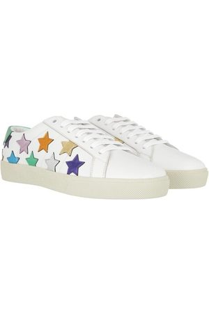 Saint Laurent Damen Sneakers - Sneakers Star Sneakers Leather weiß
