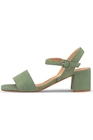 KMB Sandalette Ibacu in mittelgrün, Sandalen für Damen