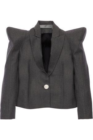 Balmain Mädchen Blazer & Sakkos - Jacke Aus Stretch-schurwolle