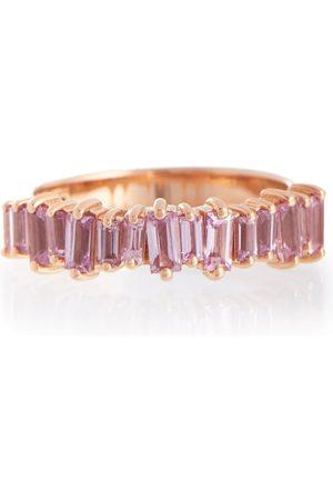 Suzanne Kalan Damen Ringe - Ring aus 18kt Roségold mit Saphiren