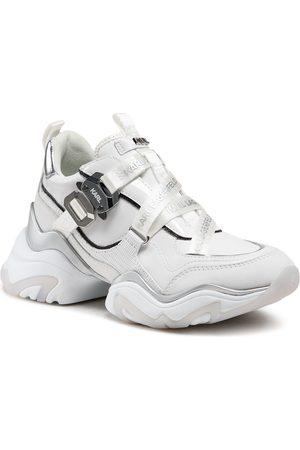 Karl Lagerfeld KL62320 White Lthr W/Silver