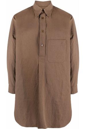 LEMAIRE Damen Blusen - Langes Hemd mit kurzer Knopfleiste