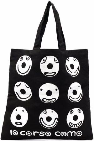 10 CORSO COMO Damen Handtaschen - Smile Shopper aus Canvas