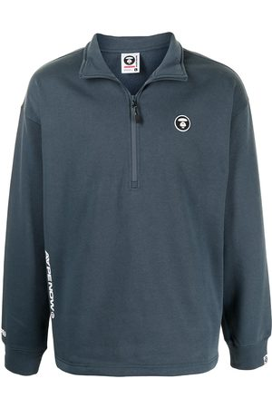 AAPE BY A BATHING APE Pullover mit Logo