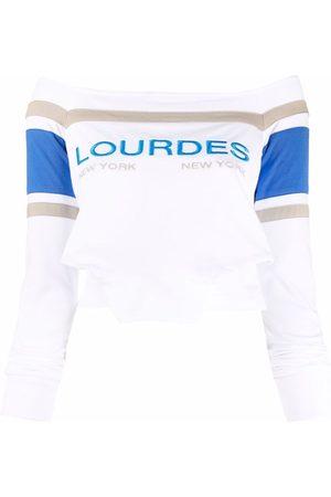 Lourdes Schulterfreies Sweatshirt