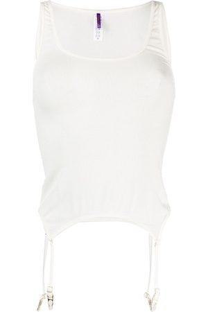 MAISON CLOSE Damen Tops & T-Shirts - Geripptes Top