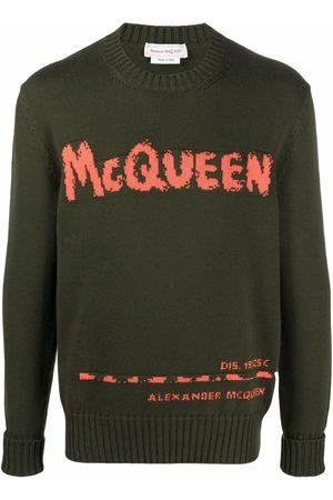 Alexander McQueen Intarsien-Pullover