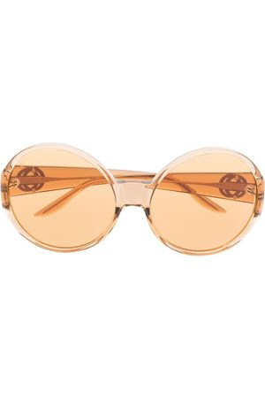 Gucci Sonnenbrille mit rundem Gestell