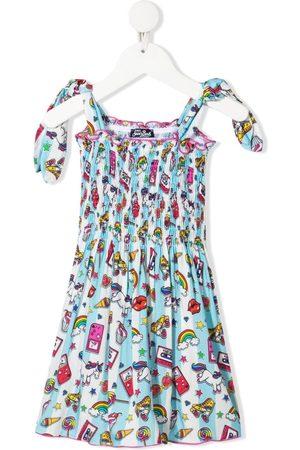 MC2 SAINT BARTH Mädchen Freizeitkleider - Kleid mit grafischem Print