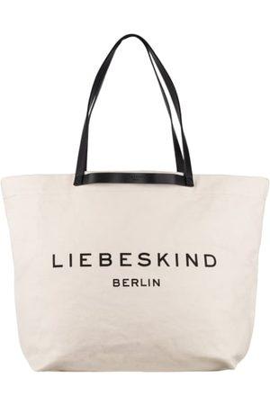 liebeskind berlin Damen Shopper - Canvas mit Lederdetails. Innen ein Hauptfach. Innenfach mit Reißverschluss. Label-Emblem auf der Front. - 45 x 38 x 20 cm (H x B x T)- Schulterriemen: 64 cm