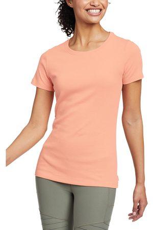 Eddie Bauer Damen T-Shirts - Favorite Shirt - Kurzarm mit Rundhalsausschnitt Damen Gr. L