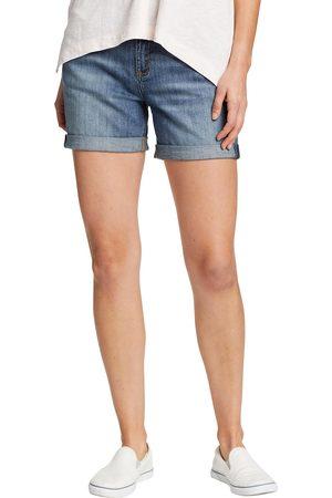 Eddie Bauer Damen Shorts - Jeansshorts - krempelbar Damen Gr. 4