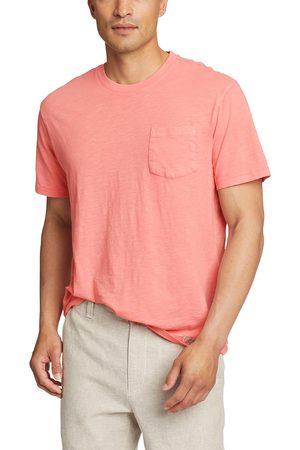 Eddie Bauer Herren T-Shirts - Earthwash Slub-Shirt mit Tasche - kurzarm Herren Gr. S