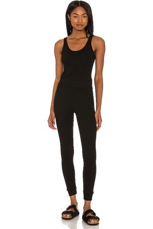 MONROW Sporty Tank Jumpsuit in . Size XS, S, M.