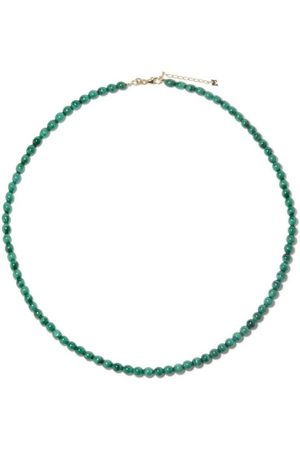 Mateo Malachite Beaded Choker Necklace