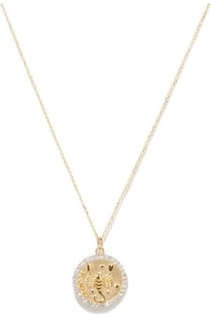 Mateo Scorpio Large Diamond & 14kt Zodiac Necklace