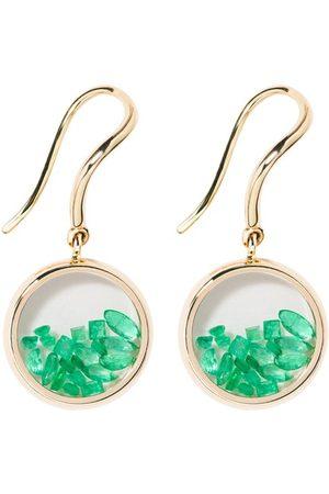 Aurelie Bidermann Damen Ohrringe - Ohrringe Chivor mit Smaragden