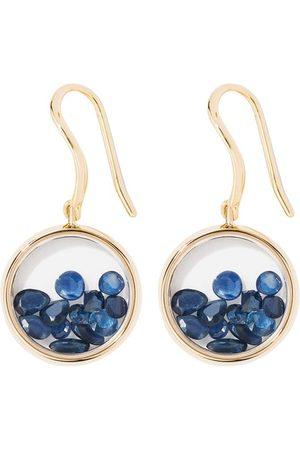 Aurélie Bidermann Damen Ohrringe - Ohrringe Chivor mit blauen Saphiren