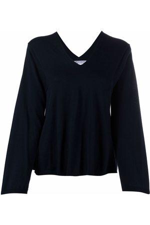 Comme Des Garçons Comme Des Garçons Damen Strickpullover - Pullover mit V-Ausschnitt
