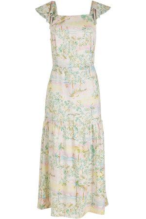 Brigitte Damen Freizeitkleider - Kleid mit Cut-Outs
