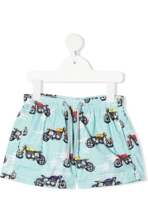 MC2 SAINT BARTH Badeshorts mit Print
