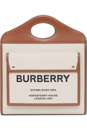 Burberry Mittelgroße Pocket Handtasche