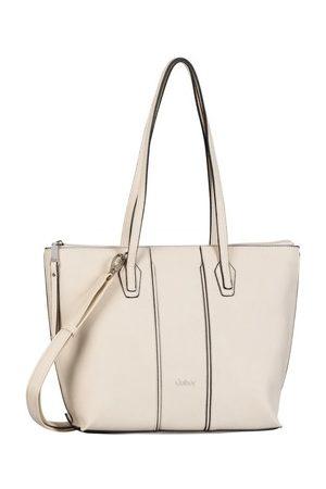 Gabor Damen Shopper - Shopper Mode Accessoires ANNI Shopper, off white 8360 13