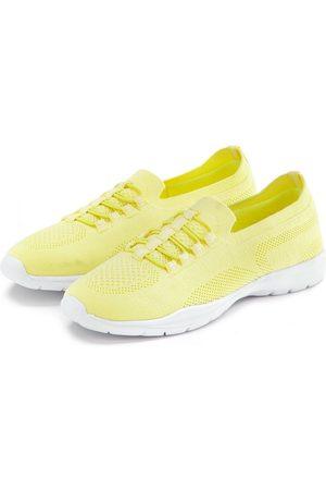 Lascana Damen Halbschuhe - Sneaker Slip In bequem zum Reinschlüpfen aus leichtem Meshmaterial