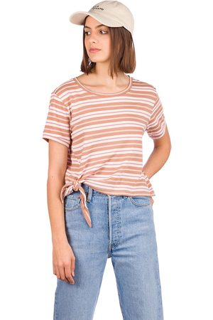 O'Neill Damen T-Shirts, Polos & Longsleeves - Striped Knotted T-Shirt