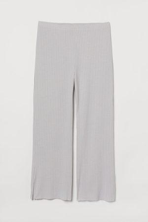H & M Damen Jogginghosen - + Gerippte Jerseyhose