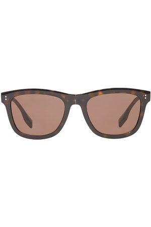 Burberry Eckige Sonnenbrille mit Logo