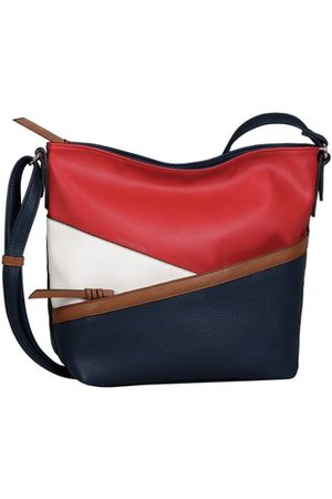 Tom Tailor Umhängetasche Mode Accessoires ELINA Cross bag, mixed maritim 28020 144