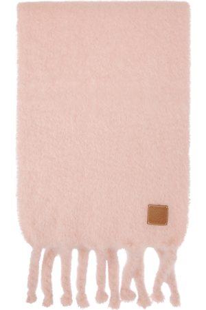Loewe Pink Mohair Scarf