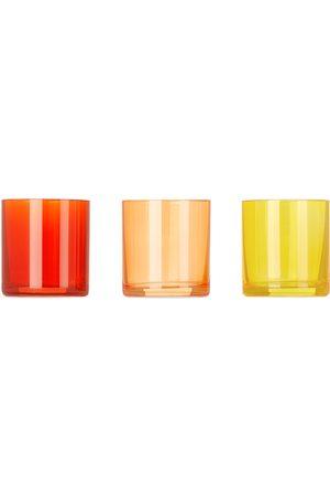 Lateral Objects Multicolor Bonfire Glow Votive Set