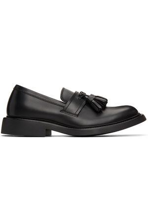 Bottega Veneta Black 'The Level' Loafers