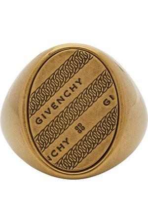 Givenchy Herren Ringe - Gold Chain Chevalier Ring