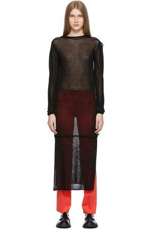 Ader Error Knit Salan Dress