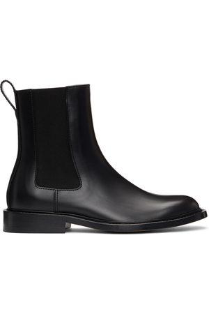 Bottega Veneta Black 'The Level' Chelsea Boots