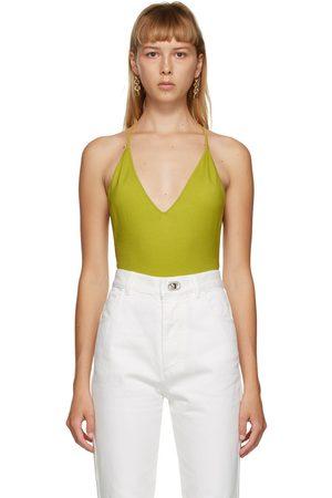 Bottega Veneta Damen Bodys - Green Cashmere Bodysuit