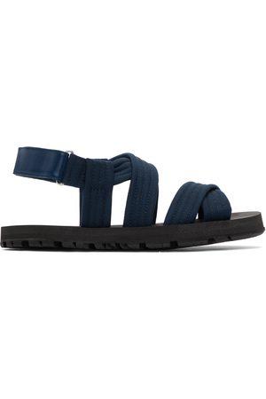 DRIES VAN NOTEN Blue Strap Sandals