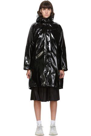 Moncler Black Down Pott Coat