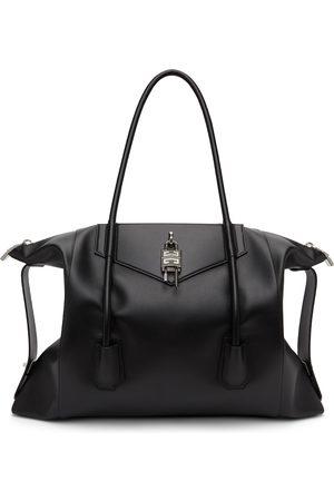 Givenchy Black Large Antigona Lock Soft Tote