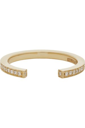 Annette Rose Gold & Diamond Sequential 1 Arc Ring