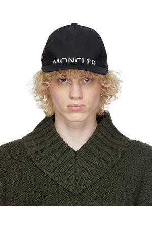 Moncler Herren Caps - Black Logo Cap