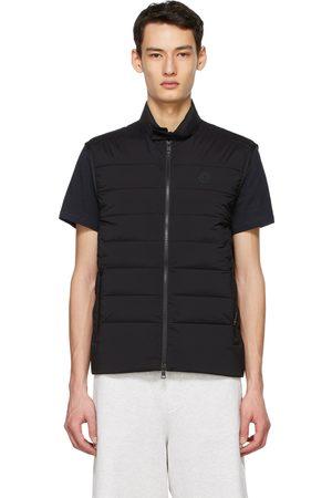 Moncler Black Down Gordes Vest