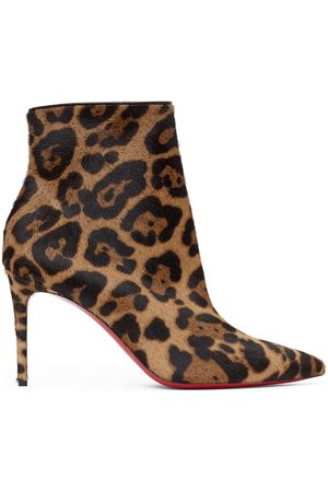 Christian Louboutin Brown So Kate 85 Boots